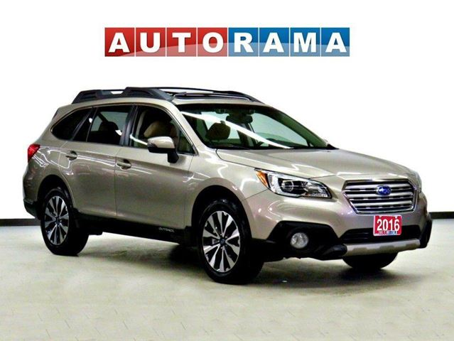 2016 Subaru Outback LIMITED NAVIGATION SUNROOF LEATHER  BACKUP CAM in