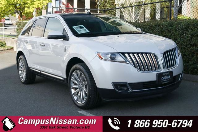 2014 LINCOLN MKX  AWD  w Navigation in Victoria, British Columbia