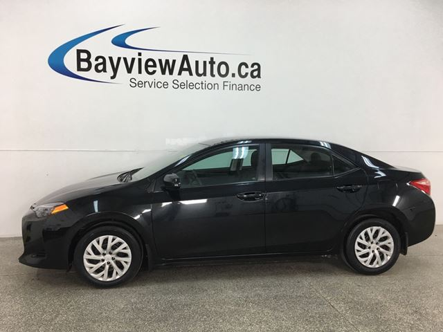 2017 TOYOTA COROLLA LE - AUTO! HTD SEATS! BLUETOOTH! A/C! CRUISE! PWR GROUP! in Belleville, Ontario