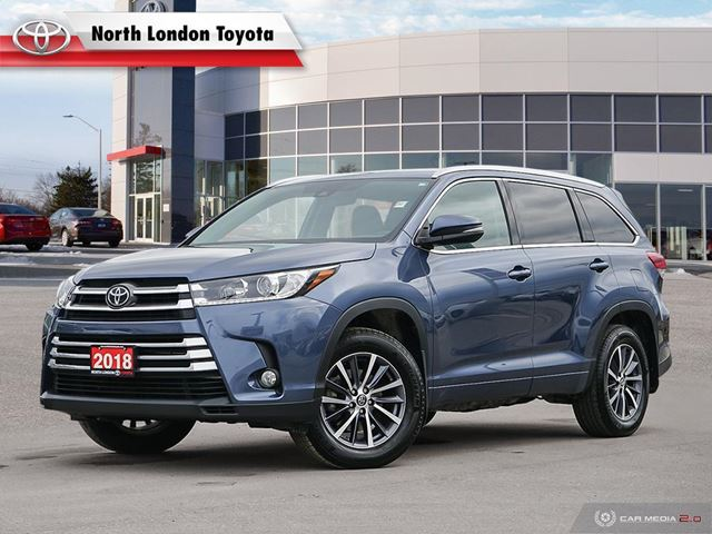 2018 Toyota Highlander XLE One Owner, No Accidents, Toyota Serviced in