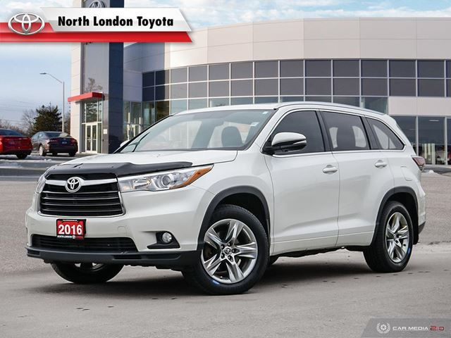 2016 Toyota Highlander Limited One Owner, No Accidents, Toyota Serviced in
