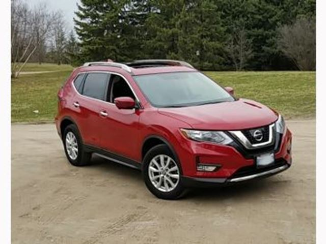 2017 NISSAN ROGUE AWD SV in Mississauga, Ontario