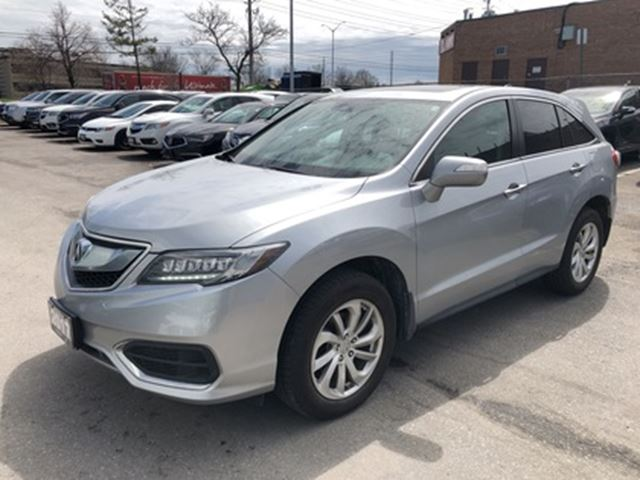 2017 ACURA RDX Tech at Tech pkg, Dealer Serviced, Accident Free! in Brampton, Ontario