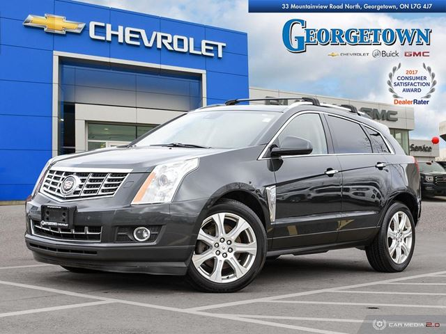 2014 CADILLAC SRX Performance PERFORMANCE|V6|AWD|CUE|NAV|SUNROOF|REARVIEW CAMERA|LANE DEPART WARNING|HEATED SEATS in Georgetown, Ontario