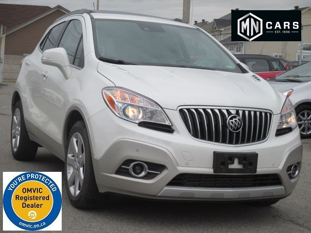 2015 BUICK ENCORE Premium, NAV, SUNROOF, LOW KMs in Ottawa, Ontario