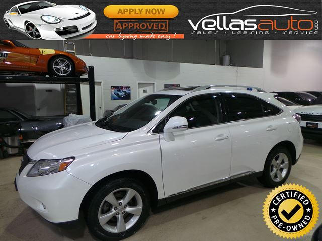 2011 LEXUS RX 350 AWD| NAVIGATION| R/CAMERA| PEARL WHITE in Vaughan, Ontario