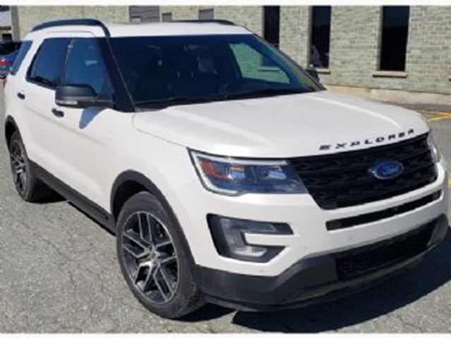 2016 FORD EXPLORER Sport 4x4, 7p, 3.5L bi-turbo EcoBoost + Services Pr+¬pay+¬s in Mississauga, Ontario