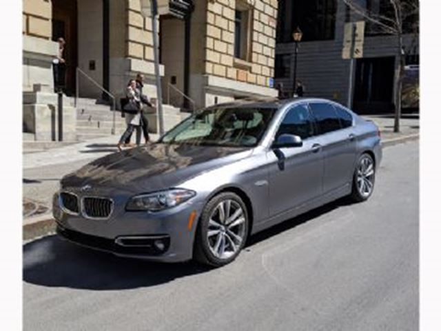 2016 BMW 5 SERIES 535d xDrive, twin-turbo Diesel,Wear and Tire&Rim protects in Mississauga, Ontario