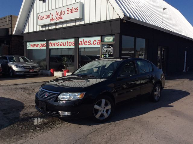 2006 SATURN ION ALLOYS! SPOILER! NICE KM'S! in St Catharines, Ontario