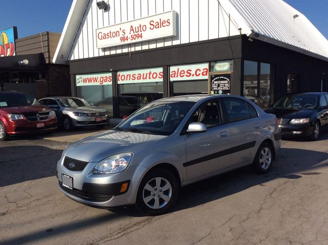 2008 KIA RIO HEATED SEATS! AUX JACK! in St Catharines, Ontario