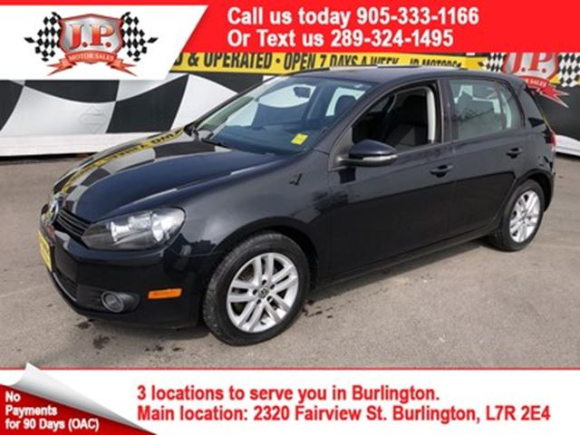 2011 VOLKSWAGEN GOLF Comfortline, Automatic, Diesel, 102,000km in Burlington, Ontario