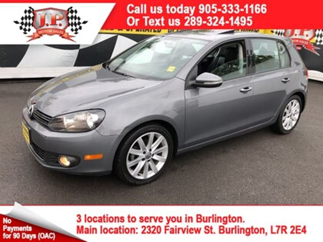 2012 VOLKSWAGEN GOLF Highline in Burlington, Ontario