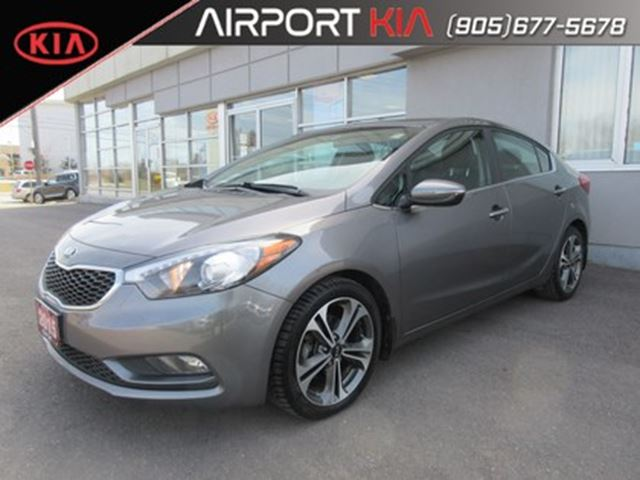 2015 KIA FORTE 2.0L SX/leather/roof/NAV/Camera in Mississauga, Ontario
