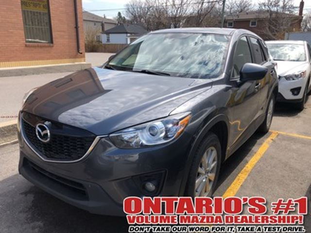 2014 MAZDA CX-5 GS-SKY/ HEATED SEATS /SUNROOF/ ONE OWNER!!!! in Toronto, Ontario