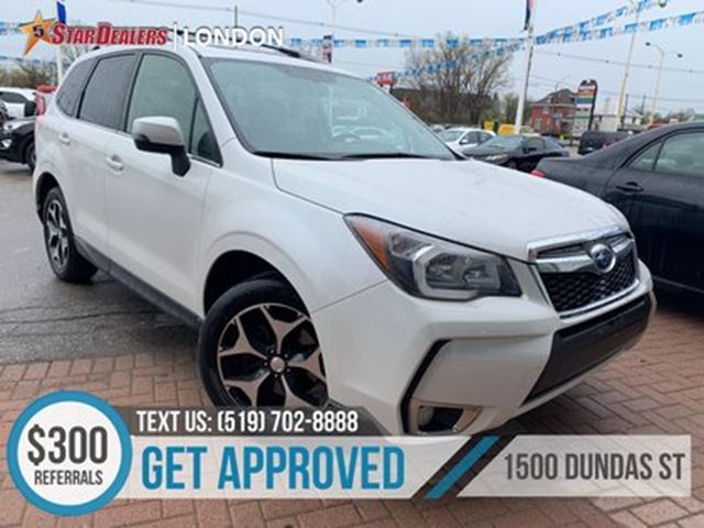 2015 SUBARU FORESTER 2.0XT Touring   NAV   LEATHER   ROOF   AWD   CAM in London, Ontario