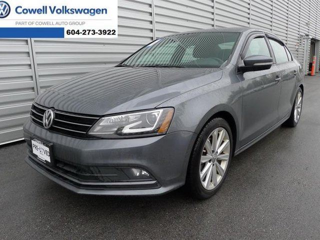 2016 VOLKSWAGEN JETTA  Comfortline 1.4T 5sp in Richmond, British Columbia