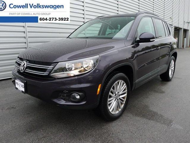 2016 VOLKSWAGEN TIGUAN Special Edition 2.0T 6sp at w/Tip 4M in Richmond, British Columbia