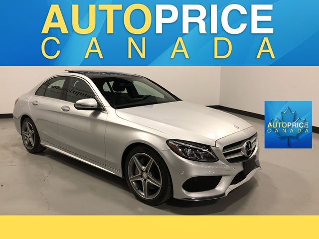 2016 MERCEDES-BENZ C-CLASS SPORT PKG|NAVIGATION|PANROOF in Mississauga, Ontario