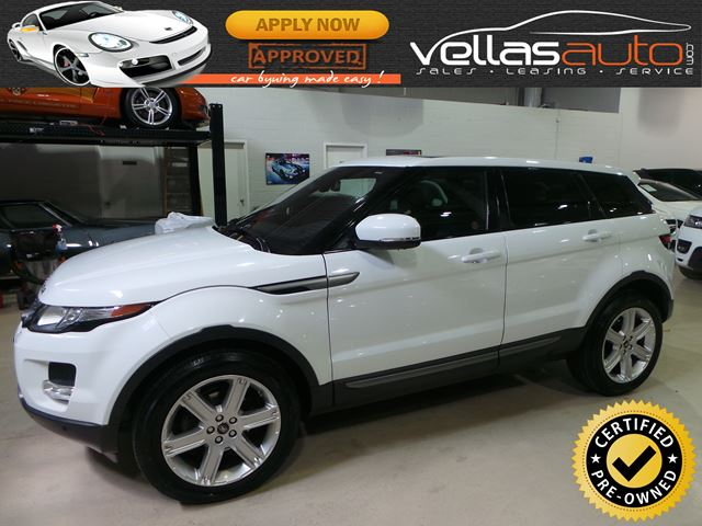 2013 LAND ROVER RANGE ROVER EVOQUE Pure 4X4| NAVIGATION| GLASS ROOF| R/CAMERA in Vaughan, Ontario