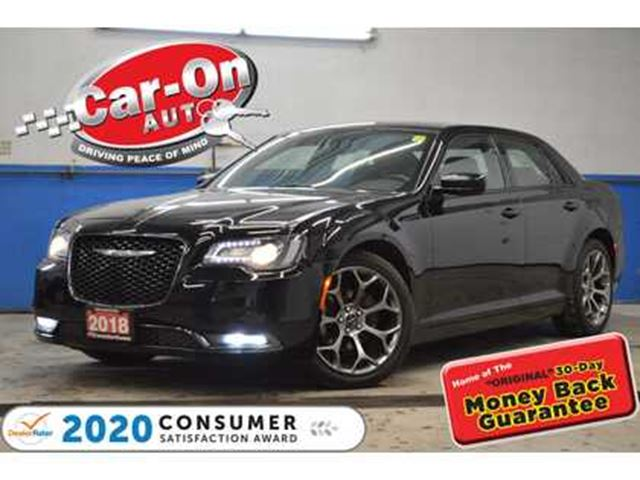 2018 CHRYSLER 300 S LEATHER REAR CAM HTD SEATS NAV READY LOADED in Ottawa, Ontario