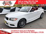 2011 BMW 1 Series M 135i, Automatic, Leather, Convertible in Burlington, Ontario
