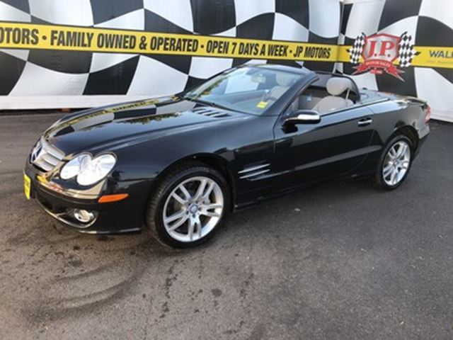 2008 MERCEDES-BENZ SL-Class 5.5L, Auto, Navigation, Leather, Convertible in Burlington, Ontario