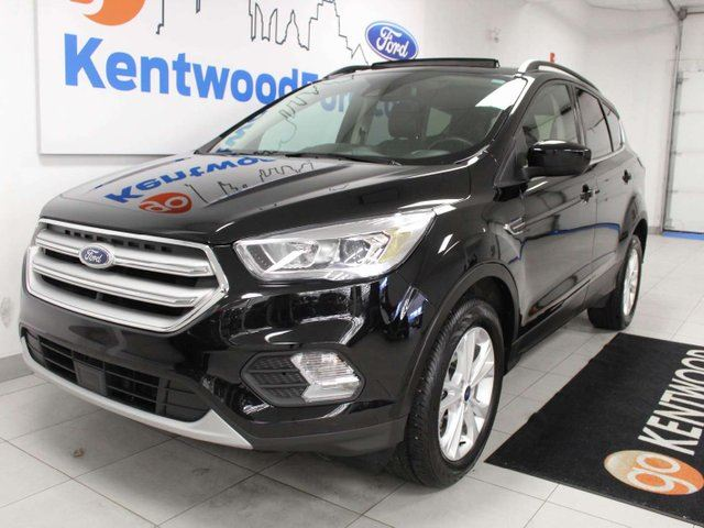 Ford Escape Sunroof >> Used 2018 Ford Escape 1 50 Sel 4wd Ecoboost Nav Sunroof Heated