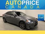 2016 Lexus IS 300 F-SPRT|NAVIGATION|REAR CAM|LEATHER in Mississauga, Ontario