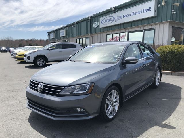 2015 VOLKSWAGEN JETTA 2.0 TDI Highline LEATHER/SUNROOF/HIGHWAY KMS FROM THE VALLEY in Lower Sackville, Nova Scotia