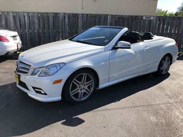 2011 MERCEDES-BENZ E-Class 350, Navigation, Leather, Convertible, 79, 000km in Burlington, Ontario