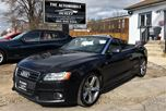 2011 Audi A5 2.0L S-LINE AWD CONVERTIBLE NAVI NO ACCIDENT in Mississauga, Ontario