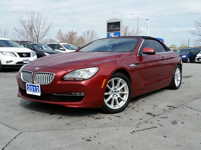 2012 BMW 6 Series 650i in Belleville, Ontario