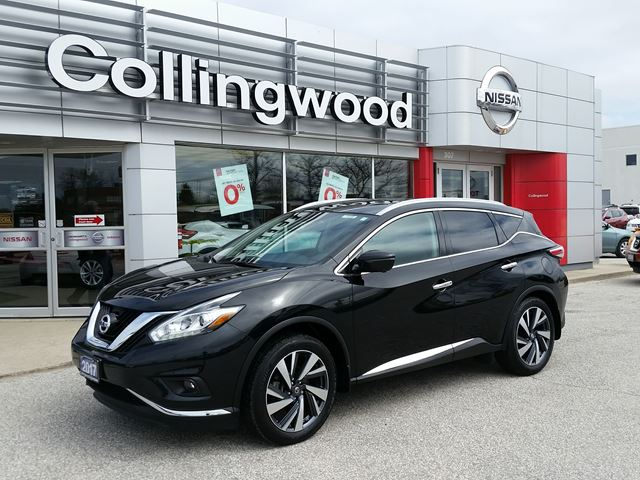 2017 NISSAN Murano Platinum AWD *1 OWNER* in Collingwood, Ontario