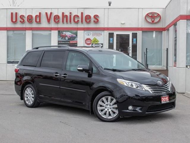 2015 TOYOTA Sienna Limited   Navi   Sunroof   Leather   H.Seats in Toronto, Ontario