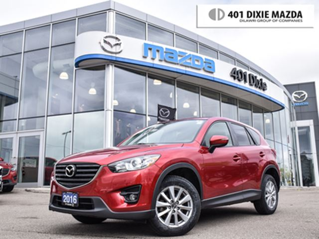 2016 MAZDA CX-5 GS ONE OWNER 1.9% FINANCE AVAILABLE NO ACCIDENT in Mississauga, Ontario