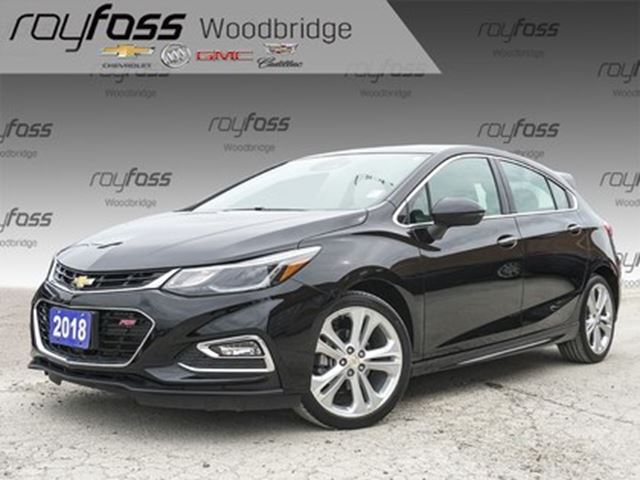 2018 CHEVROLET Cruze PREMIER RS, SUNROOF, NAV, BOSE in Woodbridge, Ontario