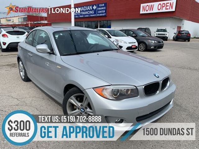2012 BMW 1 Series LEATHER   ROOF   HEATED SEATS in London, Ontario