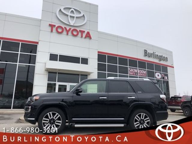 2016 TOYOTA 4Runner LIMITED EXTENDED WARRANTY in Burlington, Ontario