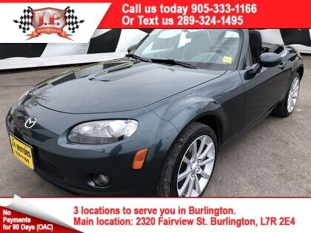 2006 MAZDA MX-5 Miata  GX, Manual, Convertible in Burlington, Ontario