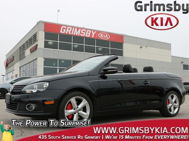 2012 Volkswagen Eos 1 Owner Low KMS Leather Convertible! in