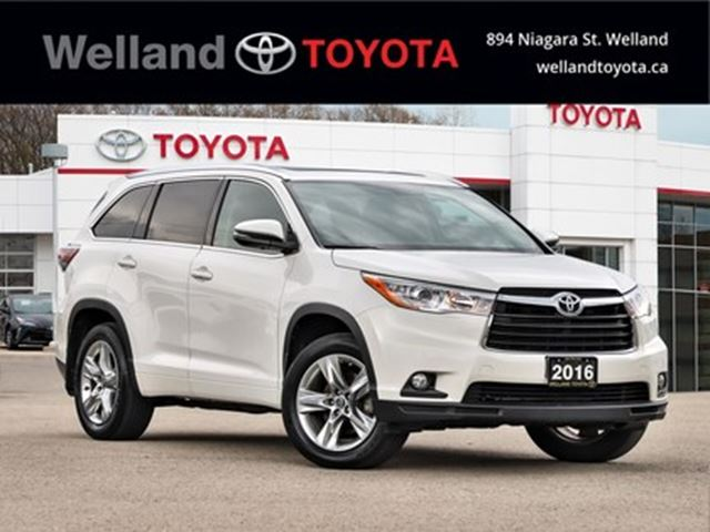 2016 TOYOTA Highlander AWD 4dr Limited in Welland, Ontario