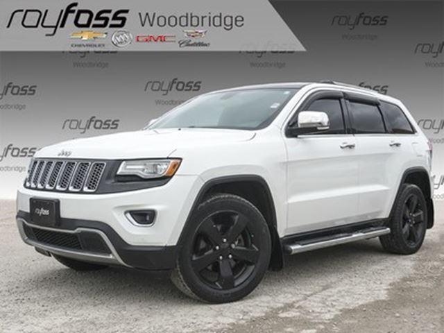 2014 JEEP Grand Cherokee Limited, SUNROOF, LEATHER, HEATED SEATS AND WHEEL in Woodbridge, Ontario