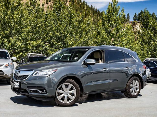 2016 ACURA MDX Elite Pkg in Kelowna, British Columbia