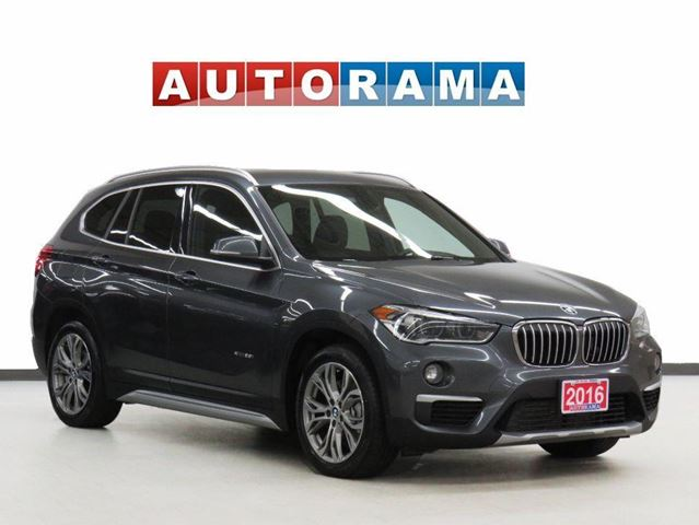 2016 BMW X1 X-DRIVE 28i Leather Backup Cam in North York, Ontario