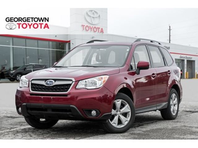 2016 SUBARU Forester 2.5i BACKUP CAM HEATED SEATS ROOF RACK ALLOYS in Georgetown, Ontario