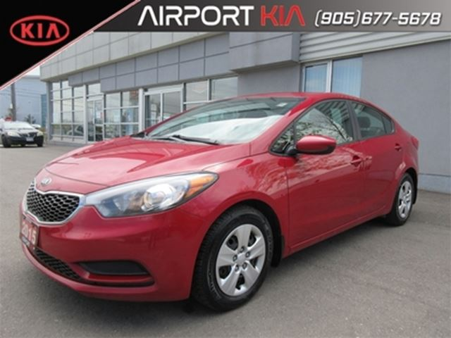 2015 KIA Forte 1.8L LX AT/Bluetooth/USB/Power package in Mississauga, Ontario