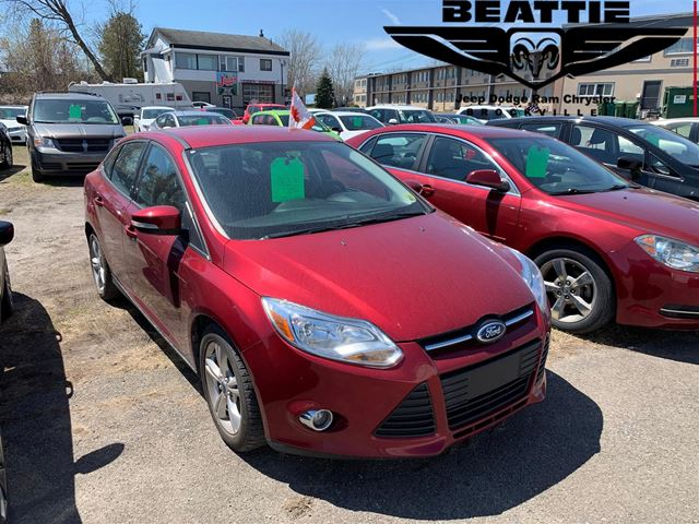2013 FORD Focus SE BLUETOOTH/ LOCAL TRADE/ GREAT SHAPE in Brockville, Ontario