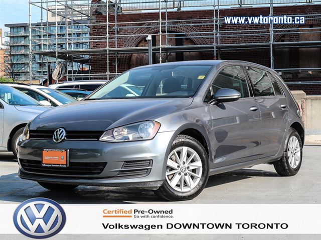 Volkswagen Downtown Toronto >> 2016 Volkswagen Golf Trendline Toronto Ontario Car For
