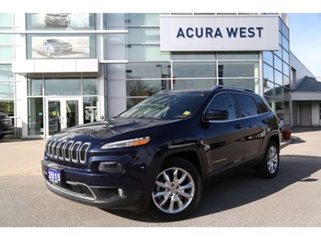 2015 Jeep Cherokee Limited in London, Ontario