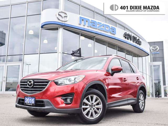 2016 MAZDA CX-5 GS ONE OWNER 1.9% FINANCE AVAILABLE NO ACCIDENTS in Mississauga, Ontario